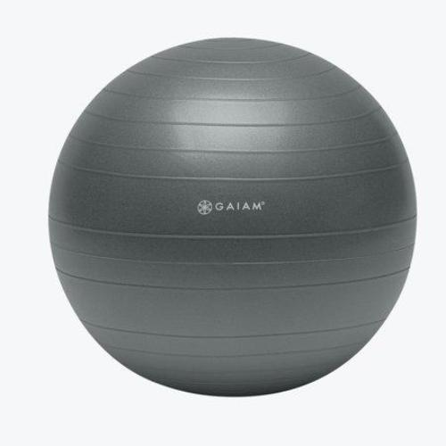Gaiam Balance Ball 65cm - Gray - all best sales