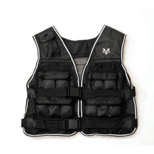 Valeo 20-Pound Weighted Vest With Removable 1 Pound Packs To Adjust From 1 to 20 Pounds - all best sales