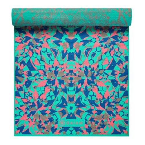 Gaiam Premium Print Reversible Yoga Mat, Reversible Kaleidoscope, 6mm - all best sales