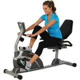 Exerpeutic 1000 High-Capacity Magnetic Recumbent Exercise Bike with Pulse - all best sales