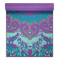 Gaiam Print Yoga Mat, Moroccan Garden, 4mm - all best sales