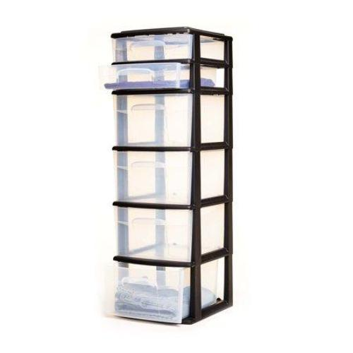 Homz 6 Drawer Medium Cart, Set of 1 - all best sales