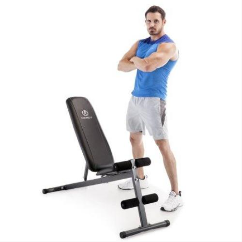 Marcy Pro Adjustable Home Gym Utility Exercise Weight Training Workout Bench - all best sales