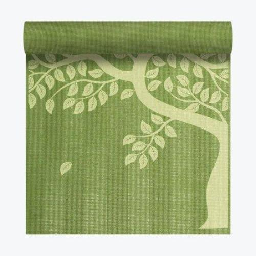 Gaiam Print Yoga Mat, Tree of Wisdom, 3mm - all best sales