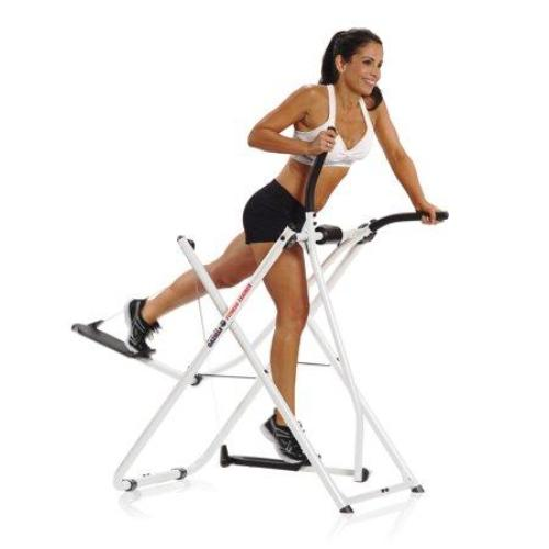 Gazelle Fitness Light Folding Home Gym Cardio Workout Elliptical Trainer Machine - all best sales