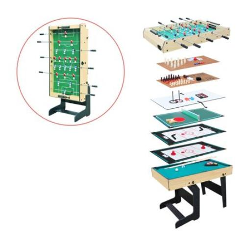 Airzone 16-in-1 Folding Junior Multi Game Table with Accessories - all best sales