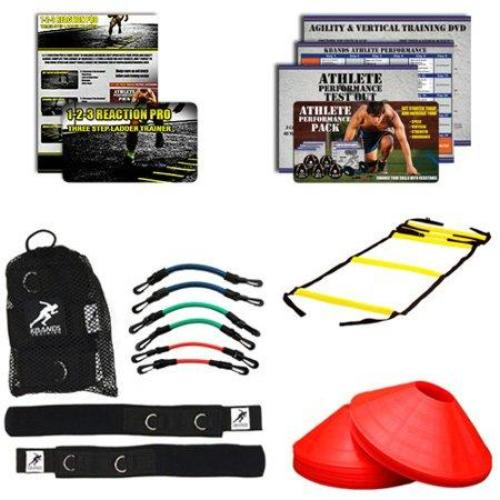 Kbands Football Pro Kit (Kbands + Speed Ladder + Agility Cones + Digital Training Programs) - all best sales