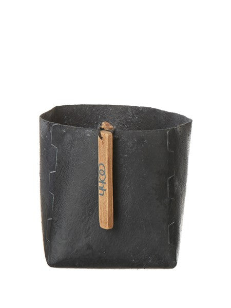 Lübeck Living Squared Pot 11 Cm Sort