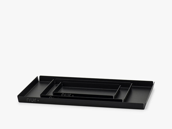 Nur - Small high Tray Black