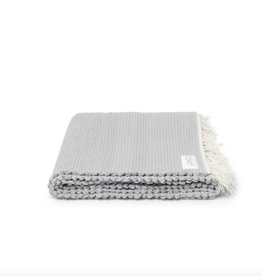 Liewood rug solid dumbo grey - gulvtæppe small