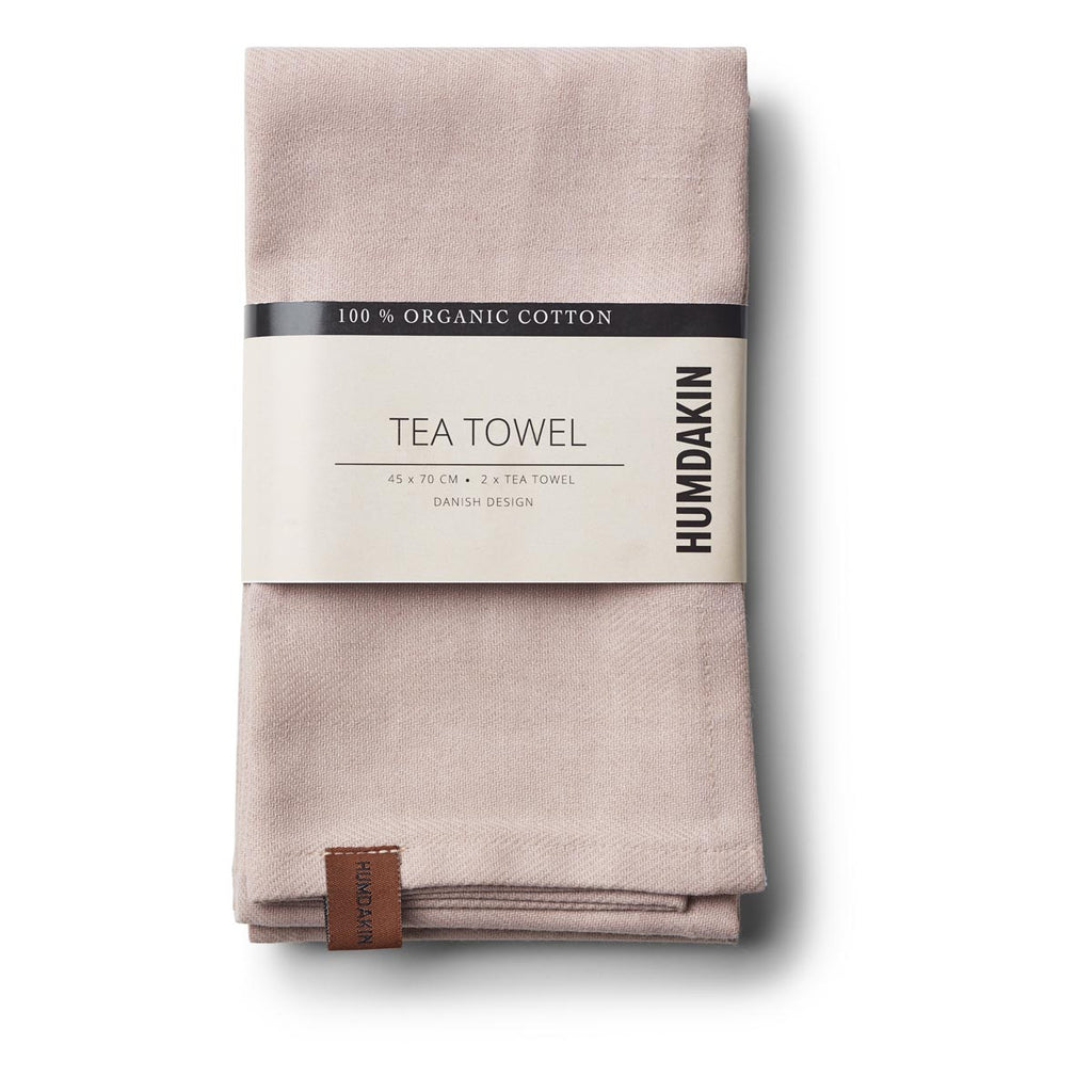 HUMDAKIN tea towel - latte