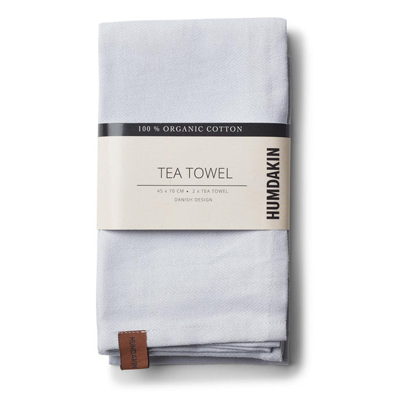 HUMDAKIN tea towel - purple grey