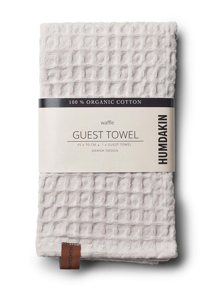 HUMDAKIN guest towel -  light stone