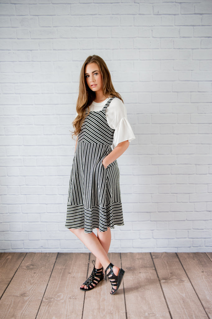 Hazel Striped Dress