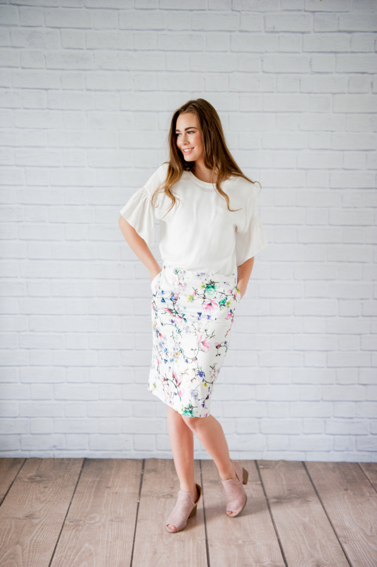 Baylee Pencil Skirt
