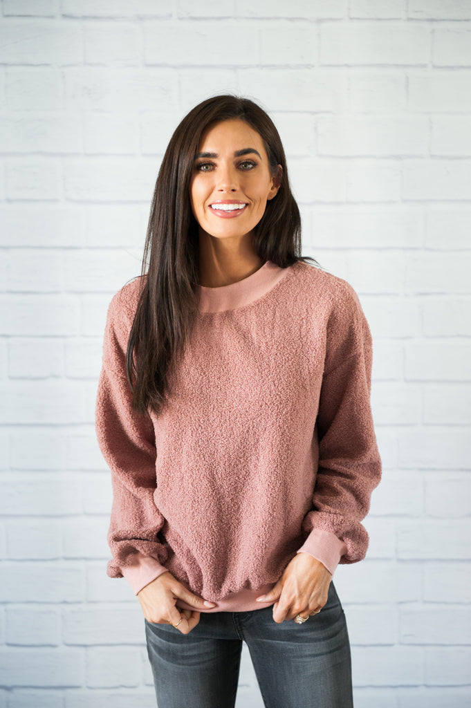 Maven Mauve Sweater