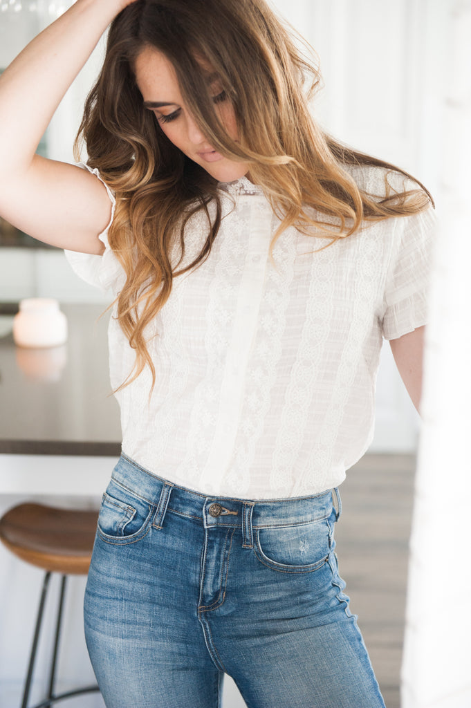 Florence Lace Blouse