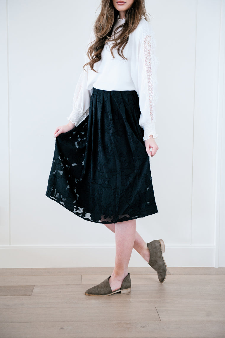 Midnight Lace Skirt