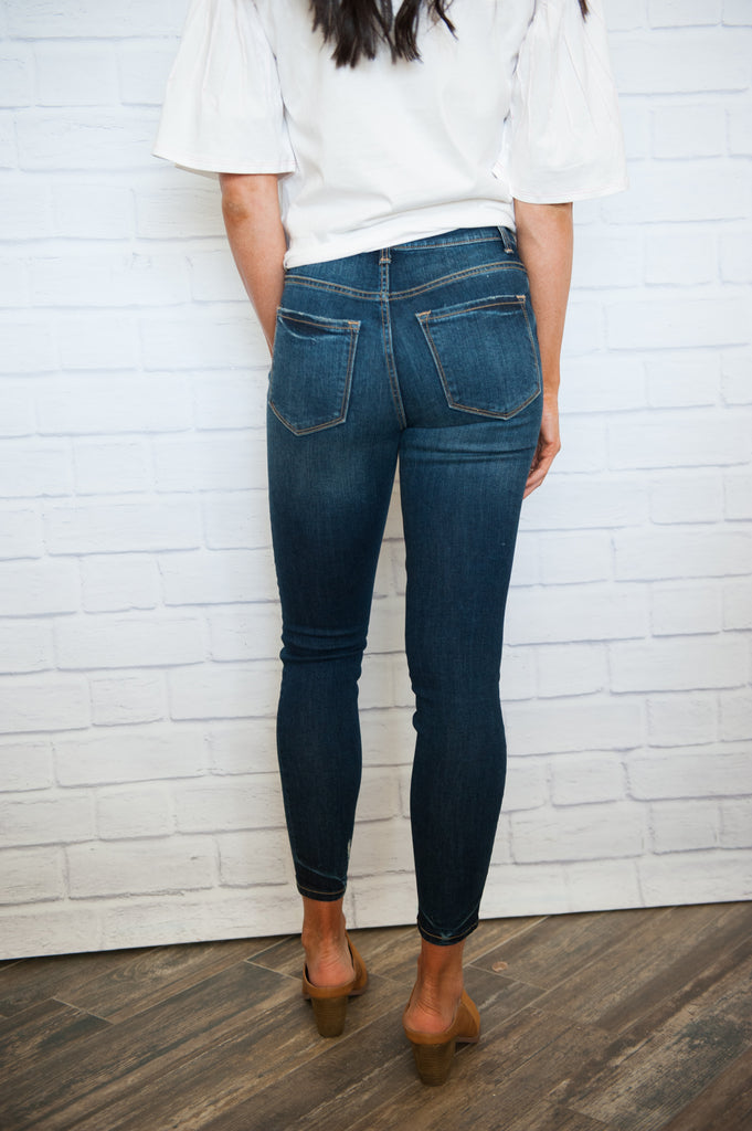Uptown Button Jeans