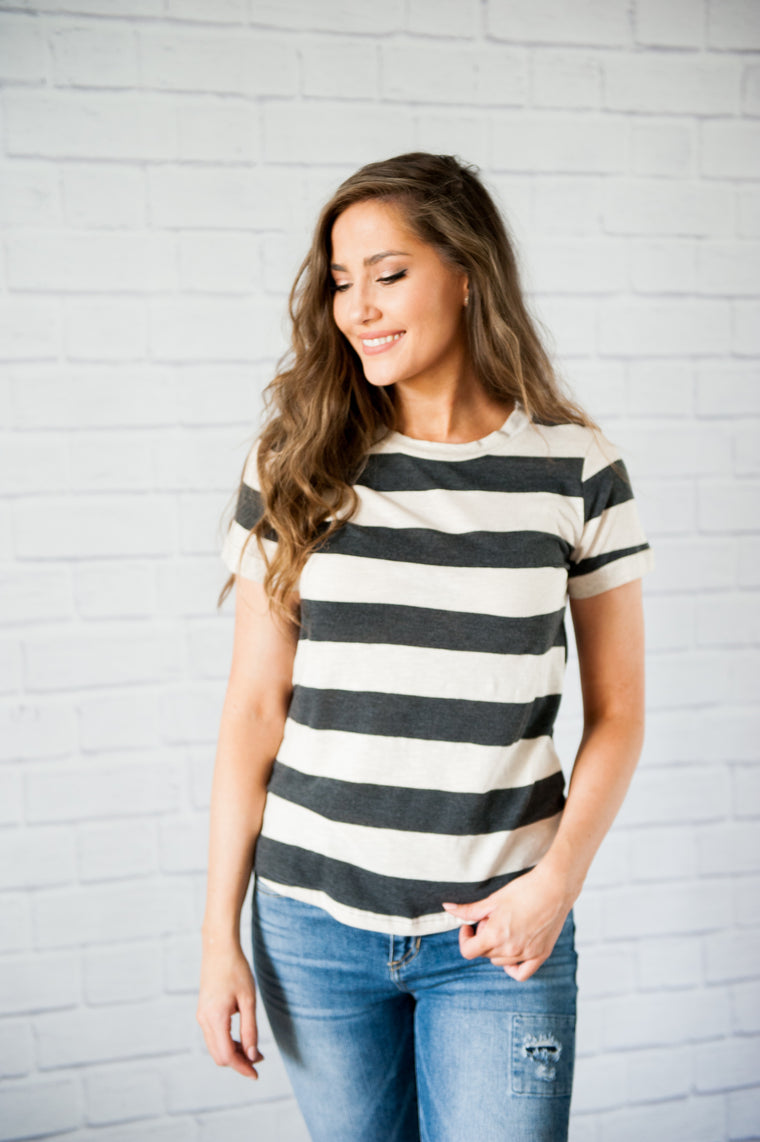 Miami Thick Stripes Tee