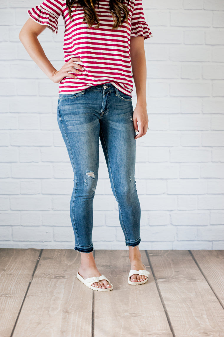 Shea Cropped Denim