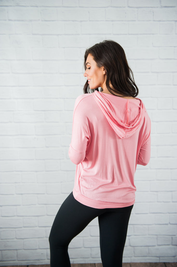 Mountain Dweller Pink Pullover
