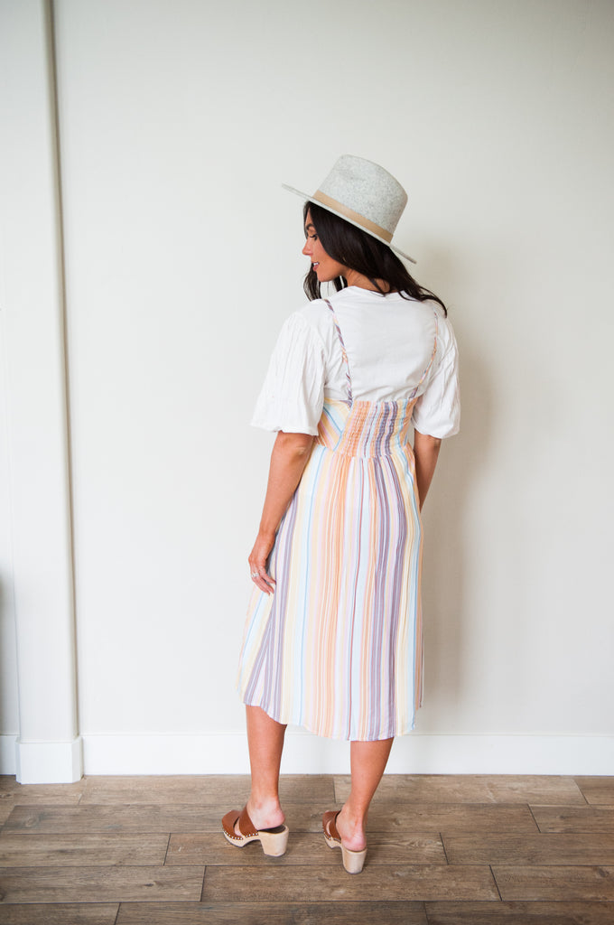 Summer Sunset Jumper Dress