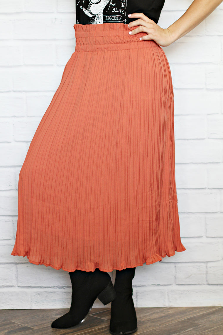 Sammy Pleated Skirt