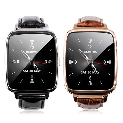 Luxury Bluetooth Smart Watch with Heart Rate Monitor & Pedometer