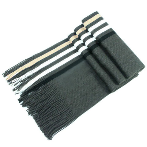 Knitted Fringe Tassel Neck Soft Shawl Snood Scarf