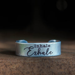 Inhale Exhale Cuff