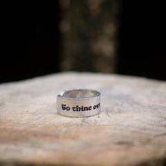 To Thine Own Self... Ring