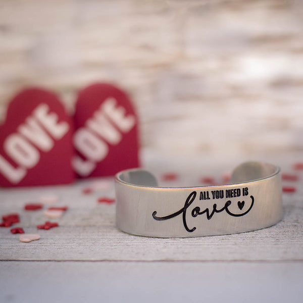 All You Need Is Love Cuff
