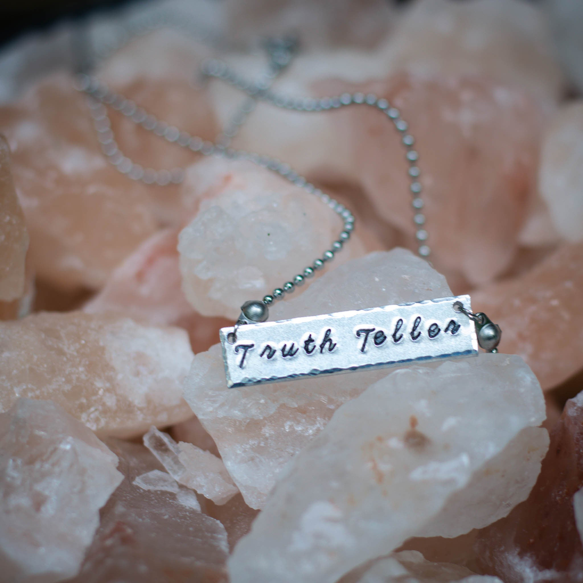 Truth Teller Bar Necklace