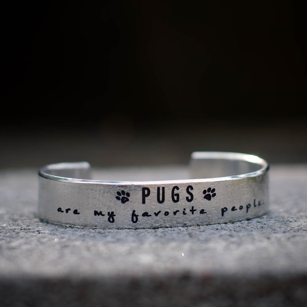 Pugs are my fav..Cuff