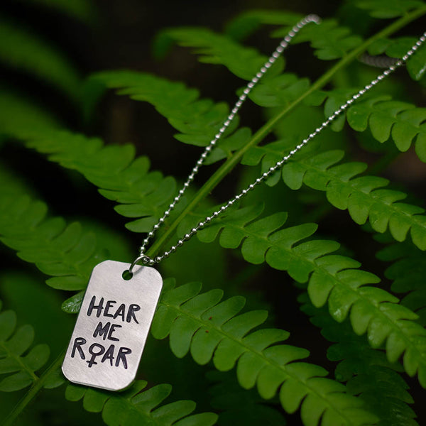 Hear Me Roar Necklace