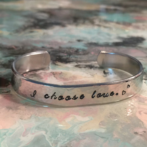 I Choose Love Cuff