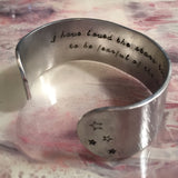 I Have Loved the Stars...Cuff