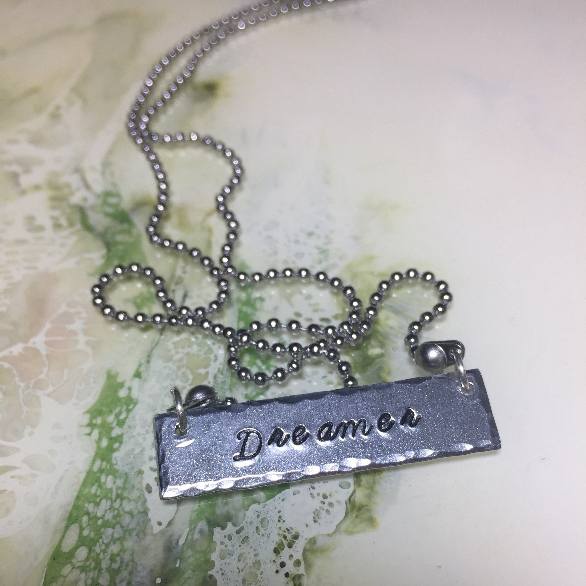 Dreamer Bar Necklace
