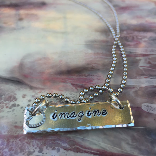Imagine Bar Necklace