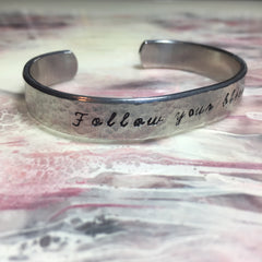 Follow Your Bliss Cuff