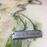 Now & Forever Bar Necklace