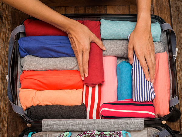 Packing roll clothing travel