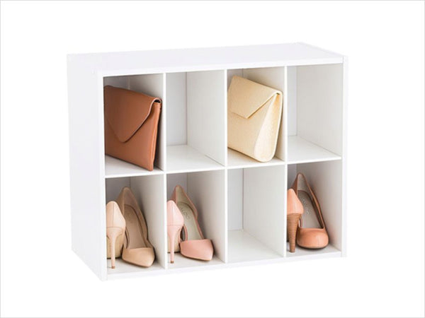Shoes and bags storage bins