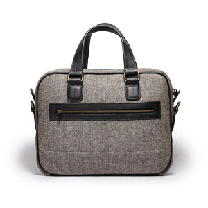 Eagle- Grey herringbone - Quavaro