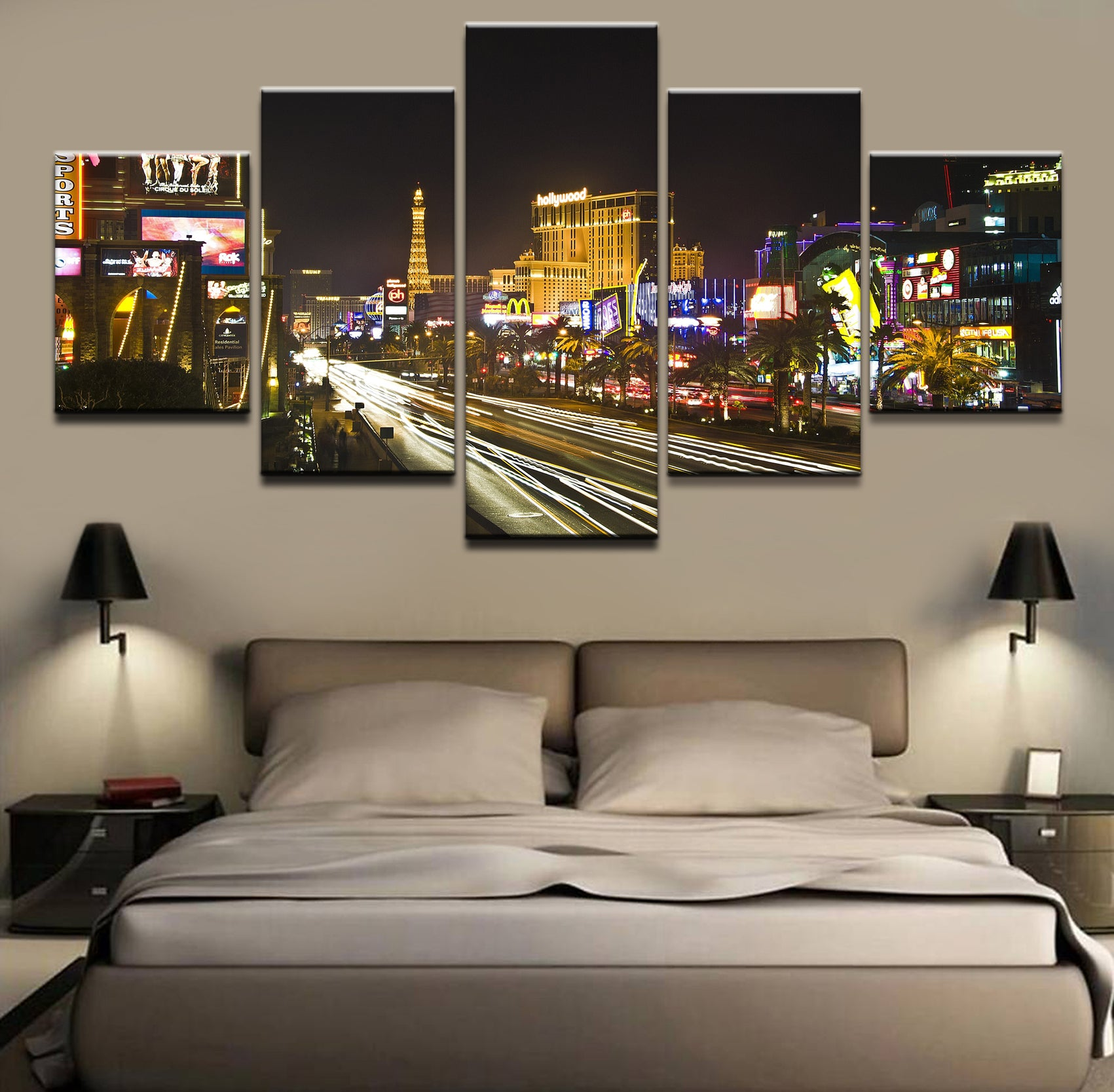 HOT Love Las Vegas Views of the Strip Collection HD Canvas (framed)