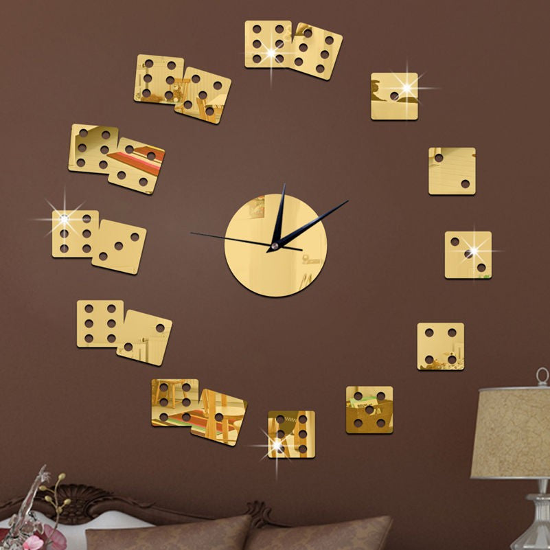 Dice The Living Room Wall Clock