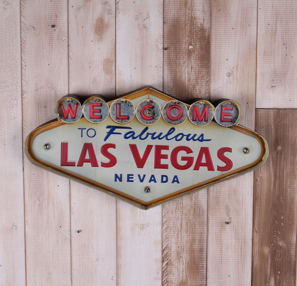 Las Vegas Welcome sign LED