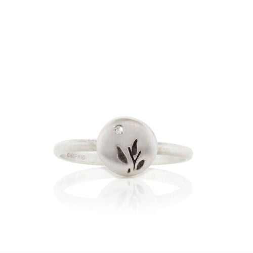Harvest Charm Sterling Silver Ring
