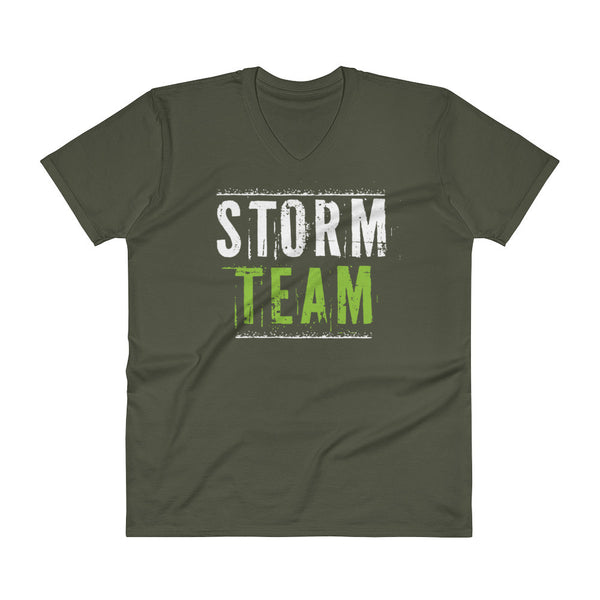 V-Neck STORM TEAM Men's T-Shirt